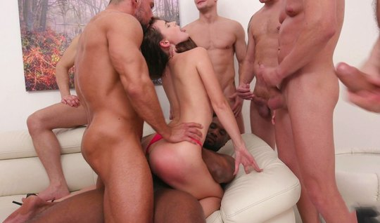 The Negro arrange anal DP with big sticks in the mouth-watering holes of his mistress