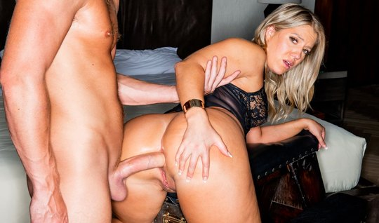 Big booty got ready for long anal sex with an athletic dude